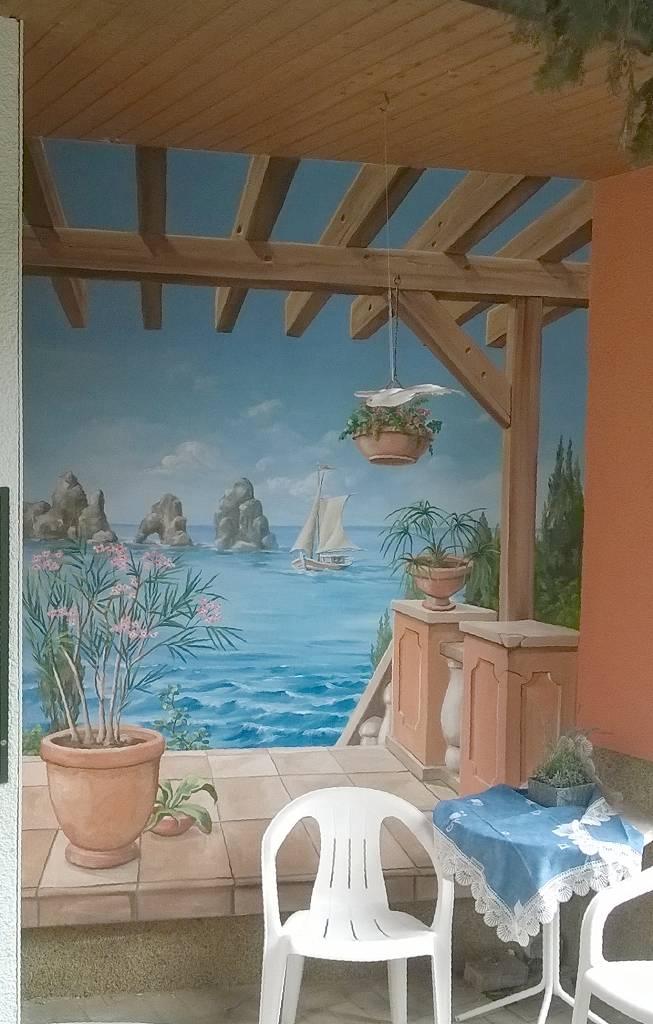 bohmann wandmalerei referenzen fassadengestaltung. Black Bedroom Furniture Sets. Home Design Ideas
